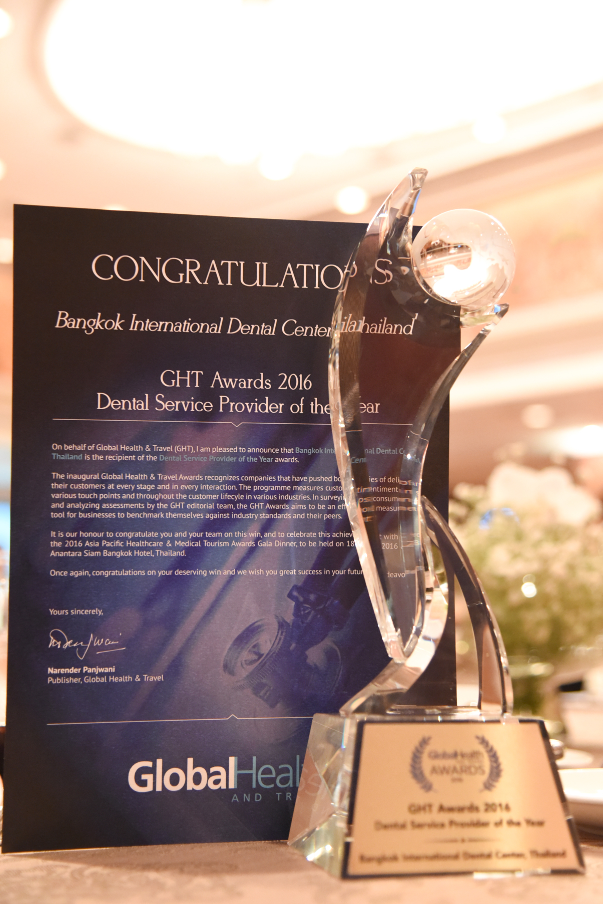 Dental Corporation receives Asia Pacific Global Health ...